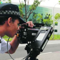 Singapore road that may deploy laser speed camera by ...