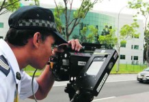 List of Roads in Singapore where Traffic Police may Deployed Laser Speed Camera Talk Cock Sing Song