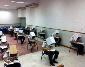 The Highest Level of Anti Exams Cheating Talk Cock Sing Song