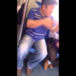 What happen when 2 Singaporean men gets in Argument for a seat