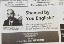 Failed Newspaper Advertisement Talk Cock Sing Song