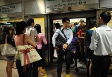 Faulty East West Line Train causes Delay During Thursday Morning Talk Cock Sing Song