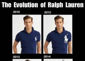 Ralph Lauren Logo getting Bigger Over the Years Talk Cock Sing Song