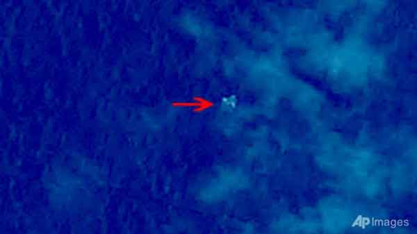 China Satellite Finds Floating Objects in South China Sea Talk Cock Sing Song