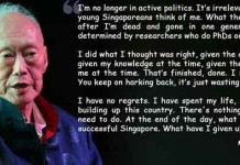 Founding Father of Modern Singapore Talk Cock Sing Song