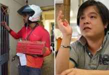Jover Chew Pizza and McDonald Epic Prank Talk Cock Sing Song