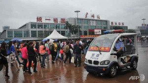 Knife Attack Wounds Nine at Chinese Train Station Talk Cock Sing Song