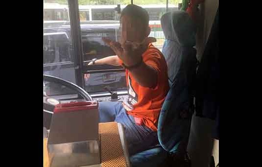 Private Bus Taken Joyride Around Singapore by Teenager Talk Cock Sing Song