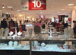 Singapore Isetan Losses More than Doubles Talk Cock Sing Song