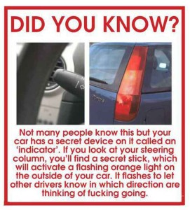 Drivers Please Read! Talk Cock Sing Song