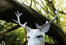 Cool Paper Masks by Wintercroft Talk Cock SIng Song