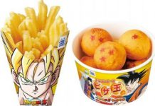 Japan DragonBall Z Food Packaging Designs Talk Cock Sing Song