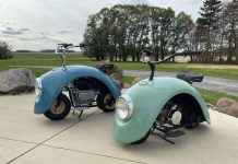 Volkswagen Beetle Motorcycle Talk Cock Sing Song