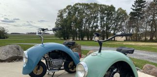Volkswagen Beetle Motorcycle Talk Cock Sing Song