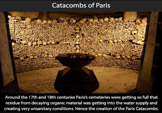 Creepy Places on Earth - Catacombs of Paris Talk Cock Sing Song