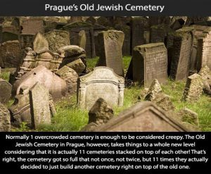Creepy Places on Earth - Prague's Old Jewish Cemetery Talk Cock Sing Song