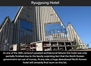 Creepy Places on Earth - Ryugyong Hotel Talk Cock Sing Song