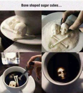 Cool Sugar for your Morning Coffee Talk Cock Sing Song